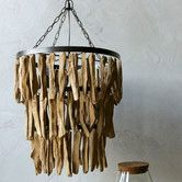 Found it at Wayfair - Simply Natural Driftwood Chandelier