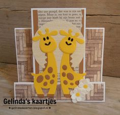 Gelinda's kaartjes: Giraffe #2