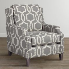 Henson Accent Chair Woven Geometric Pattern - available in different fabrics $1969+