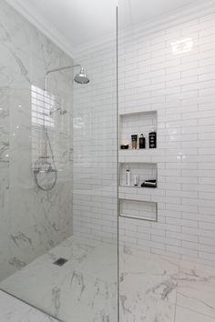 **wall cavities a must have More Bathroom Renos, Budget Bathroom, Ensuite Bathrooms, Bathroom Faucets, Bathroom Interior, Bathroom Furniture, Modern Bathroom, Small Bathroom, Master Bathroom