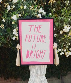 Quotes: The future is bright - jimmy marble print Motivational Quotes, Me Quotes, Inspirational Quotes, Famous Quotes, Cool Words, Wise Words, Marble Print, Bright Future, Happy Thoughts