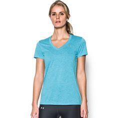 Women's Under Armour Tech Short Sleeve Tee, Light Blue
