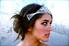 The Classic Crystal and Petal Bandeau Full size by DolorisPetunia, $600.00