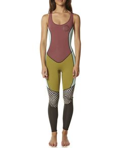 SURFSTITCH - SURF - WETSUITS - WOMENS SPRING SUITS - BILLABONG SALTY JANE SPRING SUIT - MULTI
