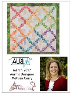 Melissa Corry of Happy Quilting, is our March Aurifill Designer of the Month! Melissa loves the color purple, so being tasked with creating a block in that color scheme was a piece of cake! Her Scraptastic Stars block is a fantastic way to use scraps of all of your favorite fabrics!   For the full interview & to download the block, please visit: https://auribuzz.wordpress.com/2017/03/15/aurifil-2017-march-designer-of-the-month-melissa-corry/