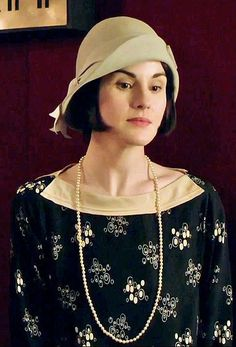 Lady Mary's date night look.