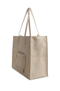 The Work Tote in Beige Fun To Be One, How To Look Better, Mobile Office, Work Tote, Pocket Organizer, Clothes For Sale, Laptop Sleeves, Shoulder Strap, Pouch