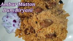 Ambur Mutton Biryani Recipe In Tamil /How to make Ambur Mutton Dum Biriy... Best Mutton Biryani Recipe, Dum Biryani, Recipes In Tamil, Cooking For Beginners, Banana Bread, Desserts, Food, Meal, Deserts