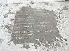 When It Rains in Boston, the Sidewalks Reveal Poetry | Smart News | Smithsonian