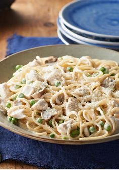 Quick & Easy Chicken Tetrazzini -- Pasta, mushrooms, garlic? Check, check, check. Our Chicken Tetrazzini recipe has everything you like about the classic--all in one quick and easy weeknight dish.