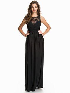 Nelly.com: Maxi Lace Top Dress - NLY Eve - kvinna - Svart. Nyheter varje dag. Över 800 varumärken. Oändlig variation.