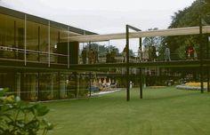 Egon Eiermann & Sep Ruf   German pavilion of the World Exhibition