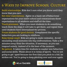 """""""Positive School Culture: How One School Transformed"""" plus """"6 Ways to Improve Your School Culture Now"""" *Share this one with your colleagues.*"""