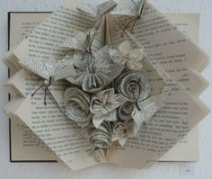 Book folding is the art of recycling books into art. This post shows you where to find book folding patterns and what can be achieved. Click to read.