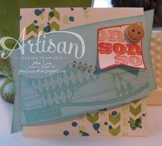 Chevron & Son - AWW | Jane Lee http://janeleescards.blogspot.com