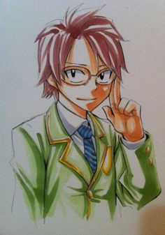 Hiro Mashima's twitter.. Natsu :O ahahahahahahahahahajajqhqja