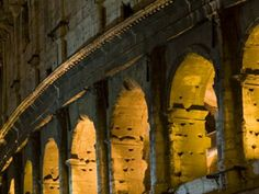 Colosseo By Night - Stampa 30x45