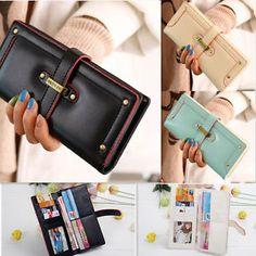 Brand New Fashion Women's Wallet Ladies Card Purse Clutch Handbag Bag #Fashion #Women's #Wallet