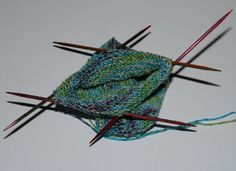 How To Connect Stitches On Circular Knitting Needles : 1000+ images about Double Pointed Needles on Pinterest Stitches, Knit socks...