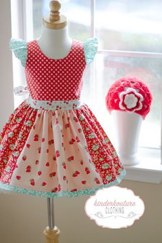 Strawberry Fields Dress – Kinder Kouture