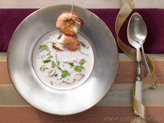 Kokos-Zitronengras-Suppe - smarter - mit Garnelen. Kalorien: 209 Kcal | Zeit: 50 min. #starters