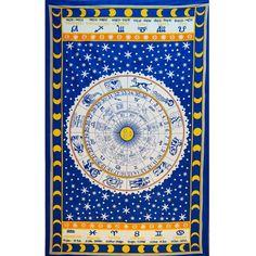 Tenture Horoscope (Bleu)