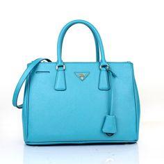sale prada saffiano cuir leather tote aquamarine usa Price ...