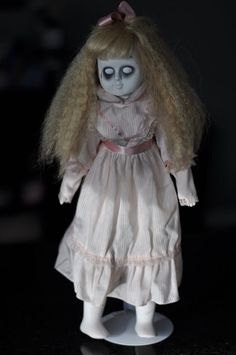 Creepy Scary Porcelain Doll - Emily, Great Prop or Collectible