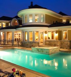 Big Houses With Pools love the rope swing and waterfalls | dream home | pinterest | best
