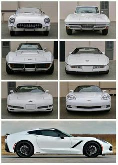 Corvette History... Gen. 1-7 THE MUSCLE CAR OF ALL TIME!