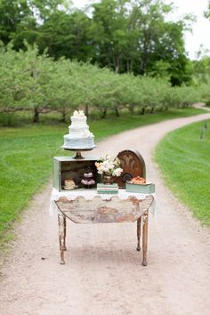 Vintage Shabby Chic Wedding Inspiration