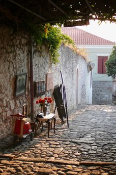 Antique Lesvos , Greece