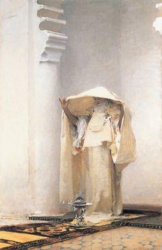 Smoke of Ambergris - John Singer Sargent  1880//