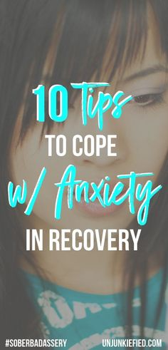 Learn how to identify triggers and use coping skills in your sober life. You don't want to jeopardize your sober time by getting stressed the fuck out. Use these 10 tips to cope with anxiety in recovery. They do work. Anxiety Causes, Anxiety Remedies, Anxiety Tips, Anxiety Help, Anxiety Relief, Stress Relief, Relapse Prevention, Sober Life, Addiction Recovery