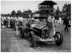 1932 Italian Grand Prix Alfa Romeo Type B/P3 Tazio Nuvolari