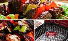 Vegetable Kebabs, Grilled Beef, Grills, Steak, Charcoal, Vegetables, Food, Meal, Essen