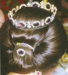 Tiara Mania: Napoleonic Amethyst Parure Tiara worn by Queen Silvia