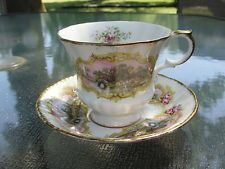 Scenic Chippendale Paragon Tea Cup and Saucer Set