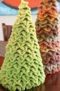 Easter Crochet Topiary Trees