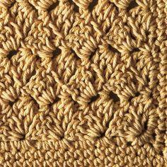 Custard Pie Crochet Dishcloth - Knitting Patterns and Crochet Patterns from KnitPicks.com