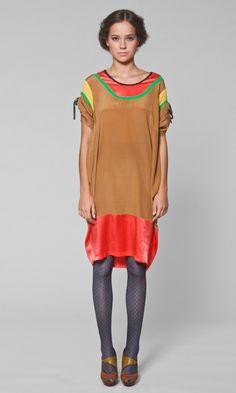 Kron silk dress - Plümo Ltd