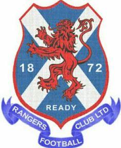 Rangers old crest.