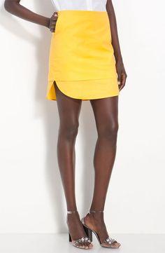 3.1 Phillip Lim Double Layered Skirt- hue happy.
