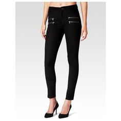 PAIGE Edgemont Pant  Black Stretch Suede ($398) ❤ liked on Polyvore featuring pants, black, leather, suede leather pants, skinny fit trousers, mid rise pants, paige denim pants and stretch trousers
