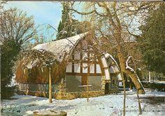 Casita Blancanieves nevada (década 60)