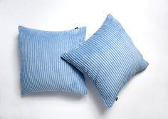 A Pair of x Super Soft Chenille Stripe Cushion Covers in Baby Blue Blue Cushion Covers, Striped Cushions, Baby Cover, Baby Blue, Pairs, Amazon, Link, Birthday, Shop