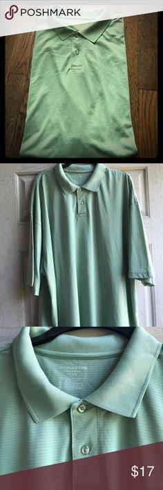 Saddlebred Tall Man Polo Green polyester Polo Saddlebred Shirts Polos