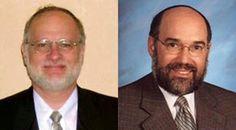 Rabbi Leonard Matanky, right, president of the Rabbinical Council of America, and Rabbi Steven Pruzansky.