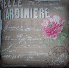 Belle Jardiniere Cushion by gonevuku on Etsy, $45.00