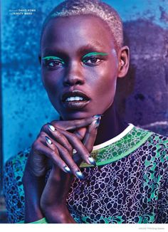 Grace Bol Wears Bold Fashion in Archetype Magazine's F/W 2014 Cover Shoot